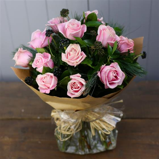 The Rose Bouquet in Pink
